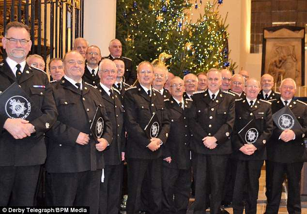 Derbys Police all male choir