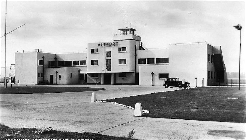 Pre-opening image of Shoreham Airport