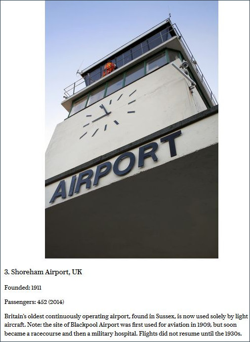 Shoreham Airport narrative