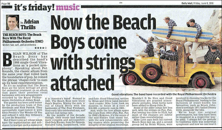 Beach Boys Article Original 5 on Beach