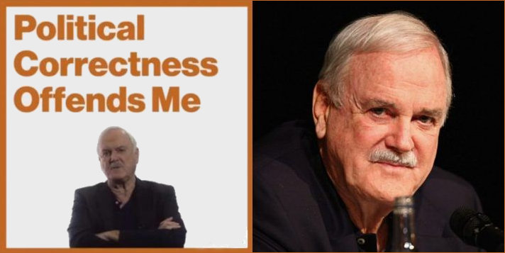 Jphn Cleese and PC quote