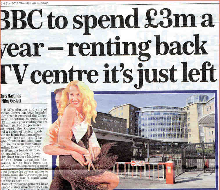 BBC to spend £3m renting TVC back article