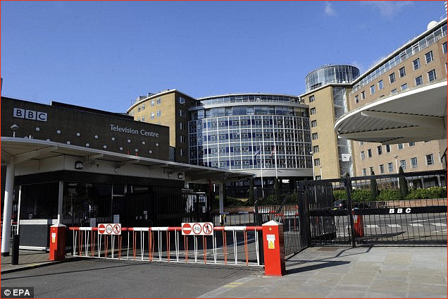 Entrance to Television Centre Gate