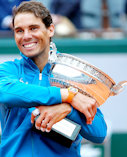 Rafa Nadal French Open Champion 2018