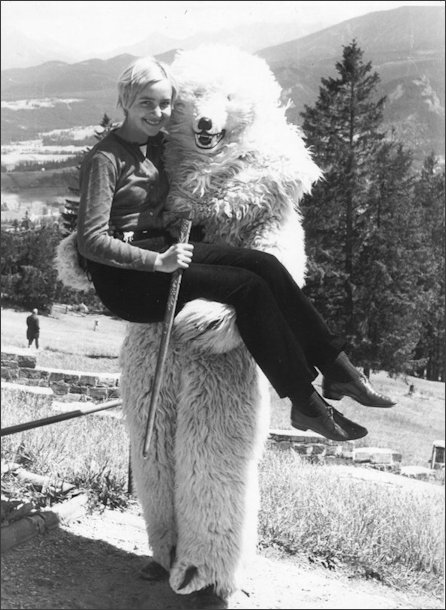 Me and the Bear in Zakopane 1968