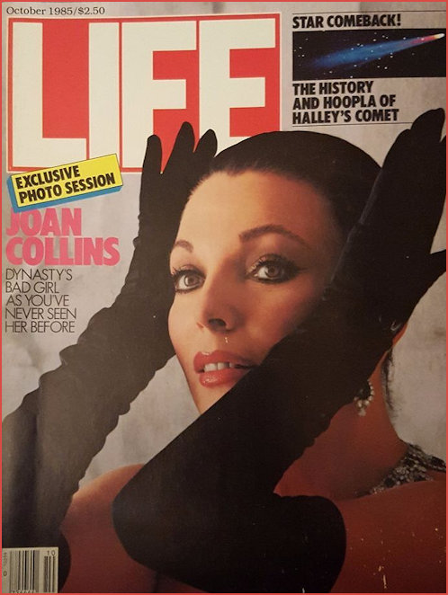 Joan Collins Life Magazine Cover 1985