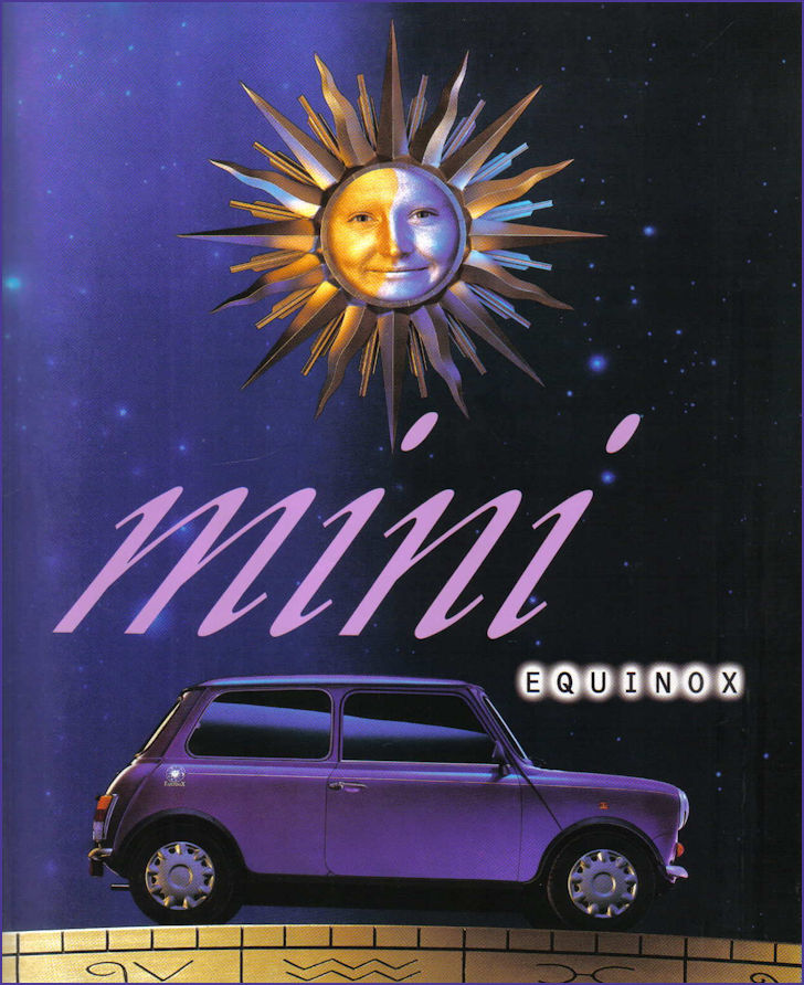 Brochure cover for Equinox
