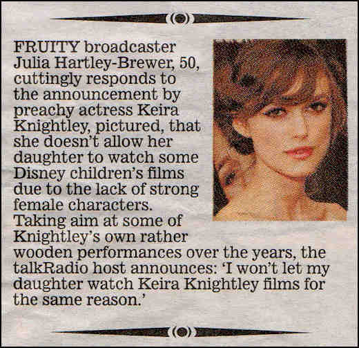 Keira Knightley the press fight back