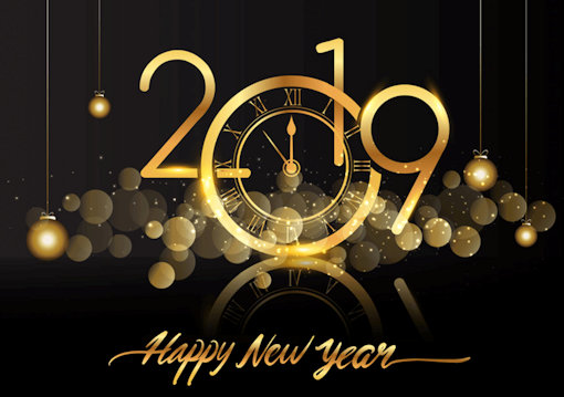 Happy New Year 2019 Greeting