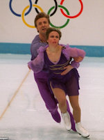 Torvill and Dean at the Olympics