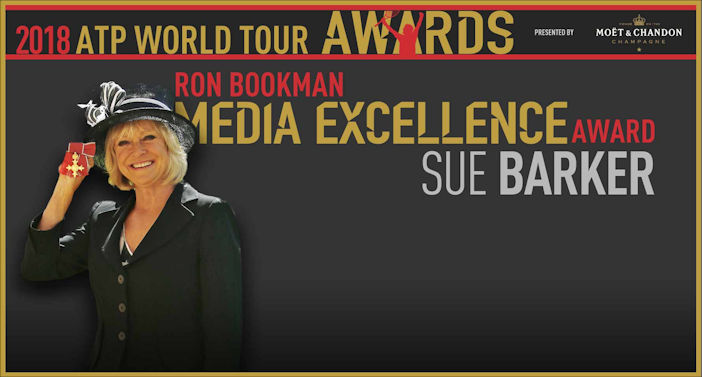 Sue Barker Bookman Media Excellence Award