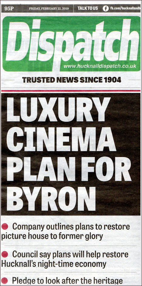 Byron Cinema Projects and News