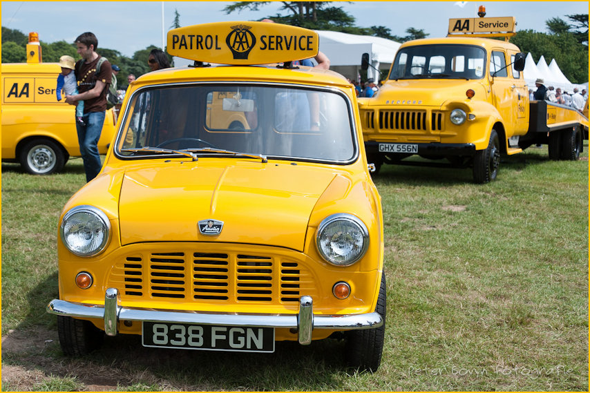 1960s AA Rescue Van at Car Rally