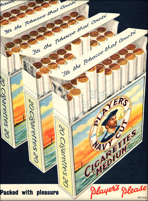 Players Medium Strength Cigarettes