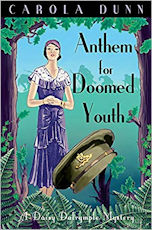 Anthem for Lost Youth by Carola Dunn a Daisy Dalrymple adventure
