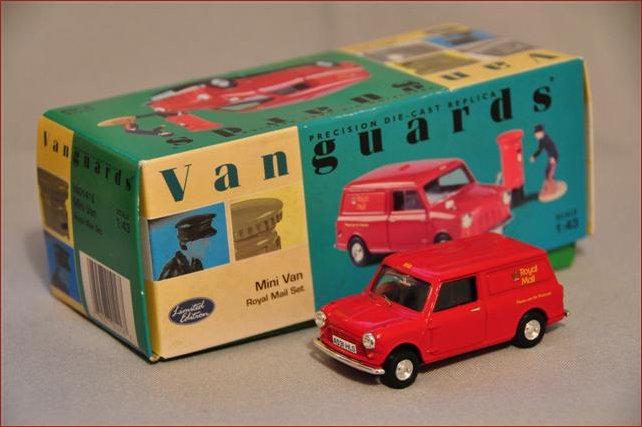 Vanguard Mini Car used by Royal Mail Model