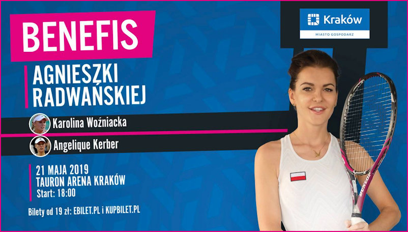 21st May Tauron Arena Radwanska Benefit