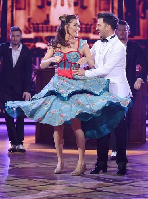 Aga dances the Quickstep