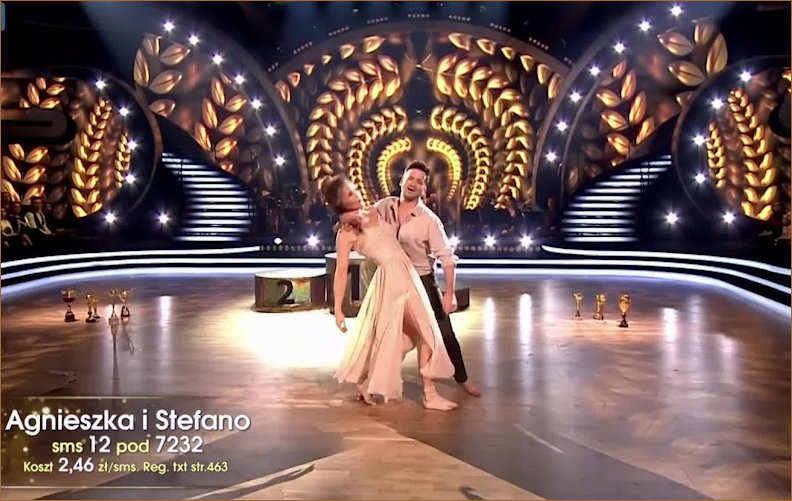 Aga and Stefano create a contemporary dance