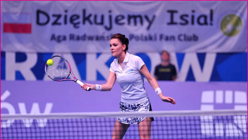 Aga in action at her Benefit
