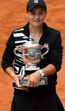 Ash Barty French Open Womens Champion 2019