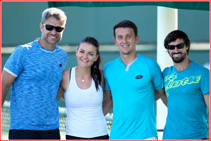 Team Aga from happier days
