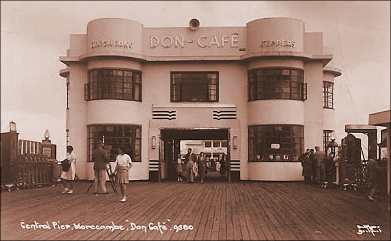 Don Cafe on Central Pier Morecambe