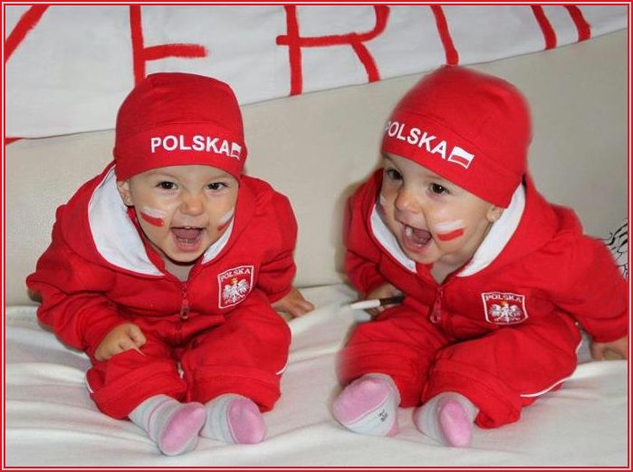 Twin Poland supporters
