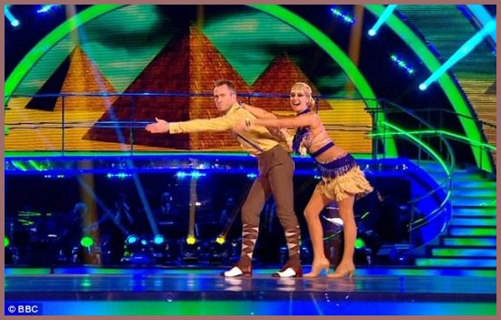 Strictly Come Dancing Denise typical WKB pose