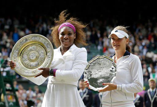 Aga and Serena Trophies