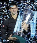 Djokovic wins end of year tour