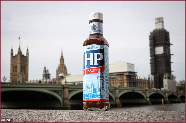 Redesigned HP Bottle to include scaffoling on Big Ben
