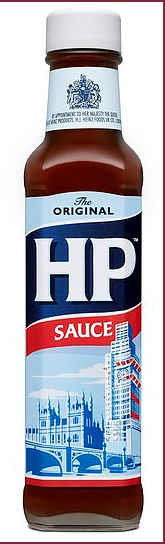 Hp Sauce Original Label updated