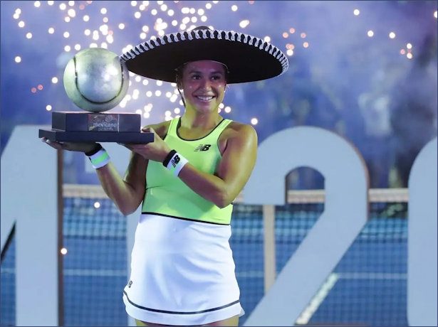 Heather Watson Mexican Champion