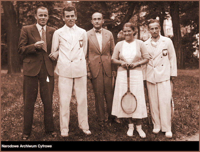JJ and team in Austria 1934