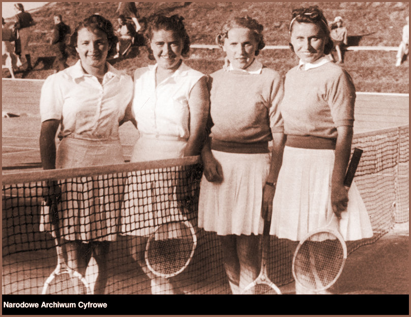 JJ and her doubles partner and opponents Torun Poland 1939