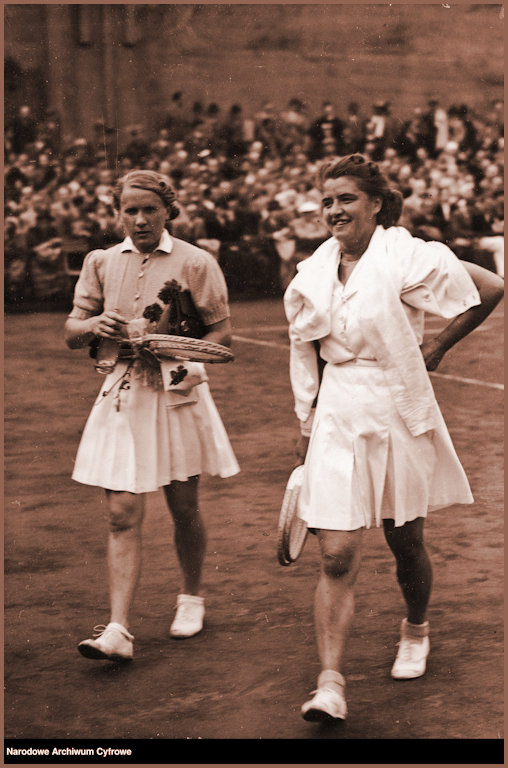 JJ and Halina Luniewska at the National Championships in 1939