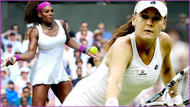 Radwanska and Williams BBC compilation