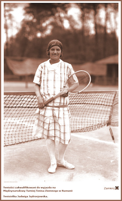 JJ Tennis Court pose 1927