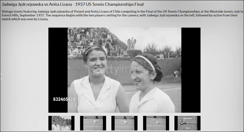 Getty - JJ Us Open Final 1937