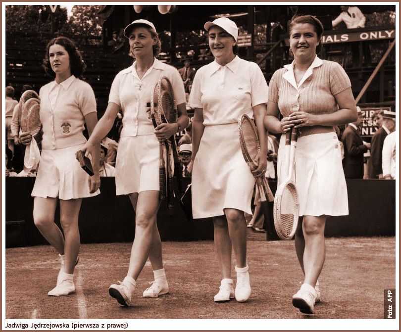 1938 Wimbledon Ladies Doubles Quartet of Players