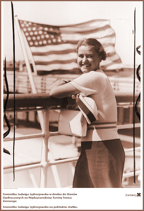 JJ on deck on the way to the USA 1937