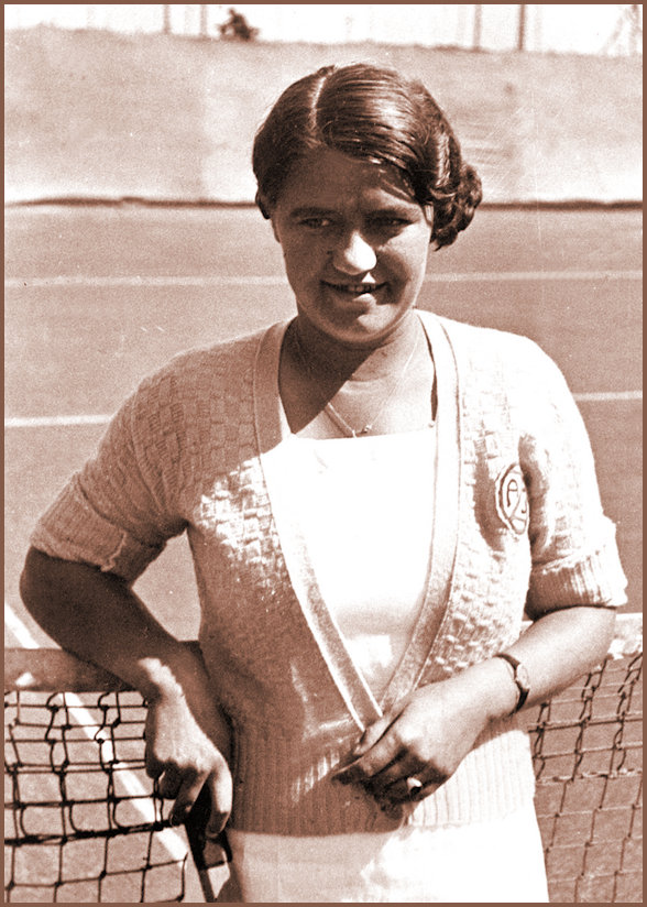 JJ Portrait at Wimbledon in 1937