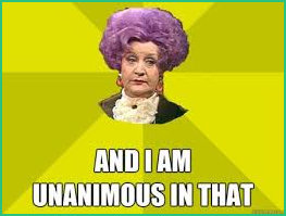 I am unanimous quote Mrs Slocombe