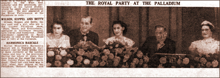 The Stage 1947 The Royal Box