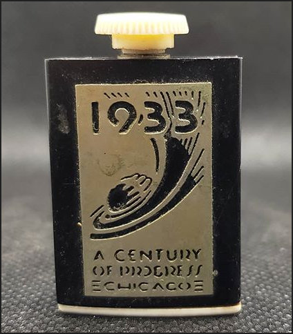 1933 Lighter or maybe hip flask