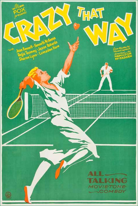 Crazy that way 1930 Film Poster