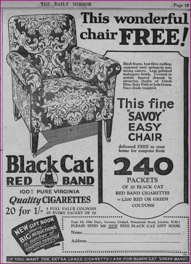 The Savoy Easy Chair 1930