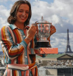 Iga and French Open Trophy 2020