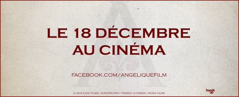 Angelique new film announcement